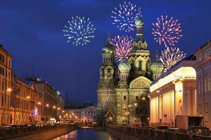 санкт петербург новый год 2021