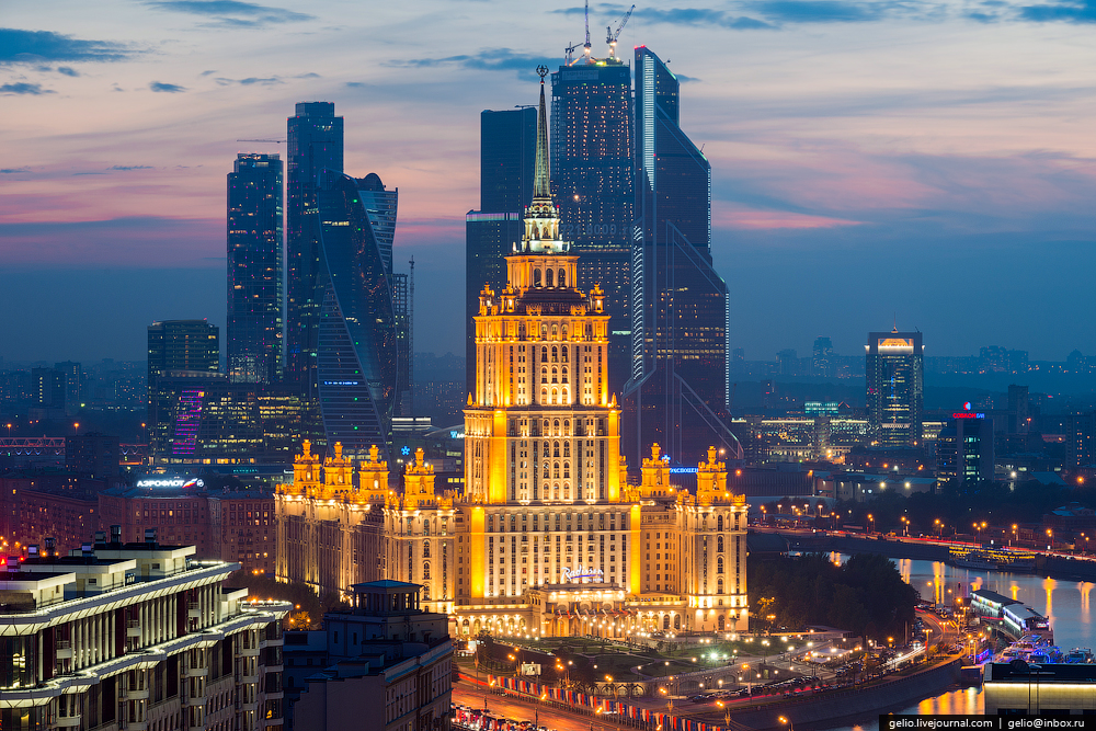 Панорамные виды Москвы